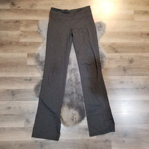 Prana heather gray wide leg yoga pants small